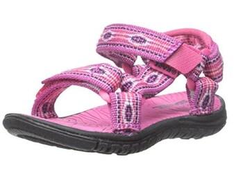 Teva Sandals, Teva Shoes, Hurricane 3, Pink Sandals, Flip Flop, Teva Monterey Raspberry (Size 7 US Big Kids)