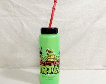 Vintage Teenage Mutant Ninja Turtles Water Bottle