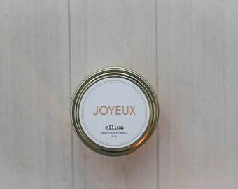 Joyeux travel candle - 6 oz.