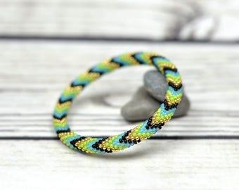 Stretch bracelet inspiration jewelry healing bracelet meditation bracelet for mom gift-for-girlfriends gift green jewelry yoga bracelet boho