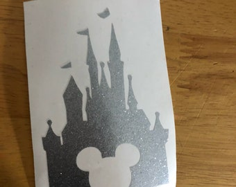 Disney Magic Band Decals Mickey Castle ANY COLOR