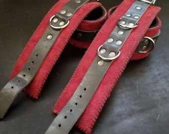 BDSM cuff set