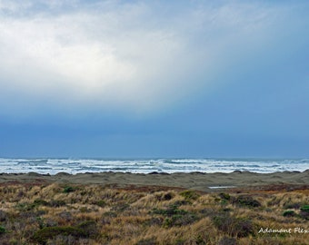 Rainy Day, Pacific Ocean Photography, Northern California