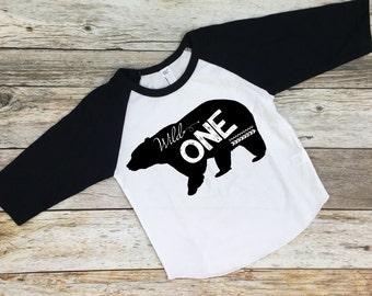 Wild One Birthday Shirt. First Birthday Shirt. 1st Birthday Shirt. First Birthday. One Birthday Shirt. 1st Birthday.