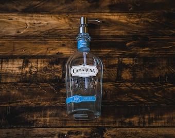 Camarena Tequila Soap Dispenser