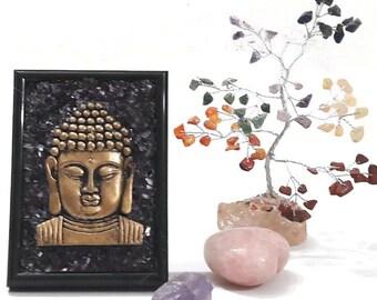 3D Buddha Wall Art - Buddha Statue - Feng Shui Home - Buddha Head - Meditation Buddha - Yoga Gifts - Yoga Decor - Buddha Face - Home Decor