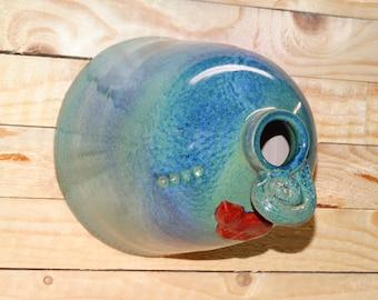 Ceramic Hive, Wheel-thrown ceramic Nest Box, Ceramic glazed Hive, Wheel-thrown clay Hive