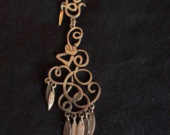 Handmade Silver Pendant / Earring