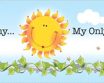 You are My Sunshine art panel