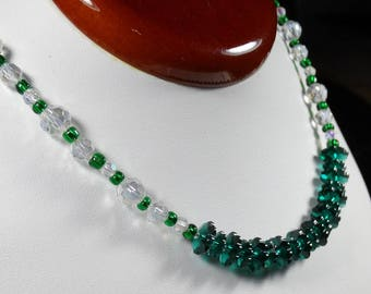 Emerald Isle Swarovski Crystal Necklace