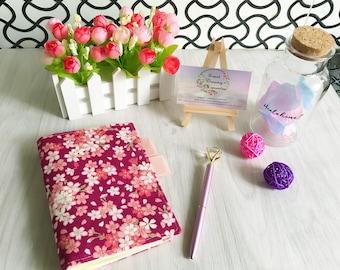 Pink Sakura Flower pattern Planner skin/Planner/Calendar Skin