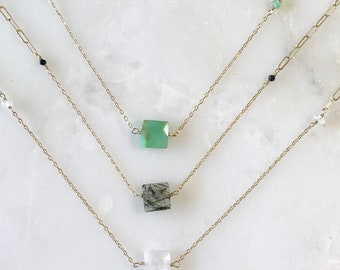 gemstone choker necklace