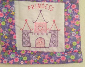 Princess quilt blocks