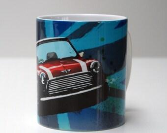 Mini cooper mug   Etsy
