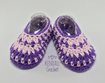 Galilee Crochet Booties 3-6 mths