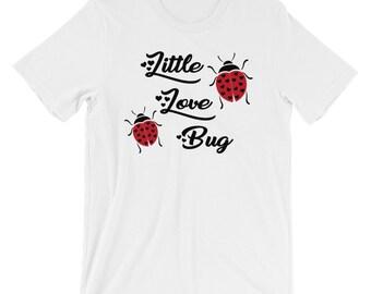 Little Love Bug Tshirt Lovers Tee