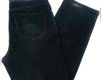 90s Tommy Hilfiger Jeans Boyfriend Straight Leg Black Jeans size 38 x 34