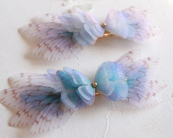 Fairy hair ornament   Valletta blue bell