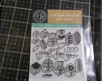 Hero Arts Clear Stamps 3x3 Just for you by Lia CL929