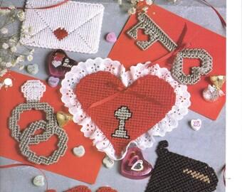Sweet Romance plastic canvas pattern ~ Valentine's Day pattern