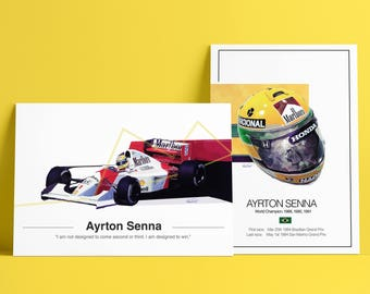 Ayrton Senna F1 Tribute - VERY short run