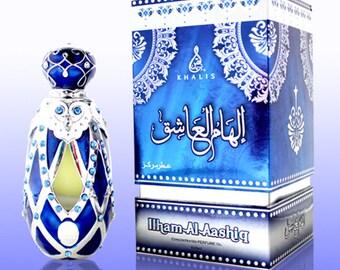ILHAM Al AASHIQ by Khalis Perfumes, Attar, Itr, Perfume, Fragrance Oil 20 ML