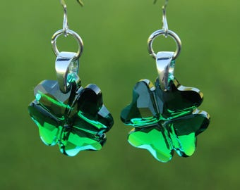 St Patricks Day Earrings