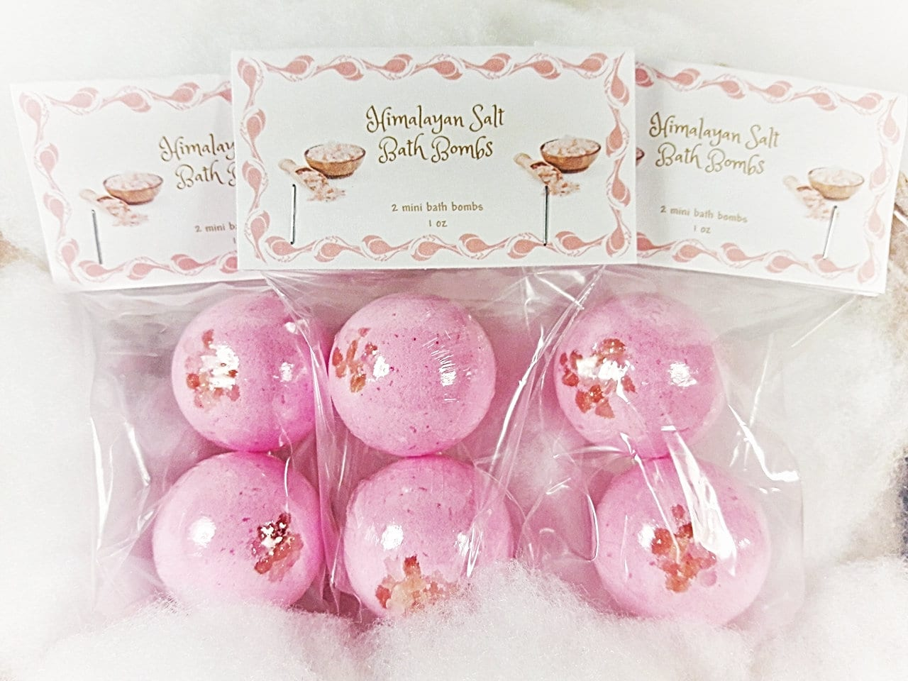 Mini Himalayan Salt Bath Bombs bath bomb bath bombs