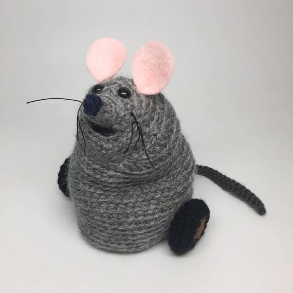 Mew The Mouse Crochet Doll Pattern Inspired By Muppets The