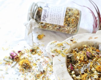 Botanical Bathtub Tea  -  Soaking in the Grace | A sacred offering unto ourselves