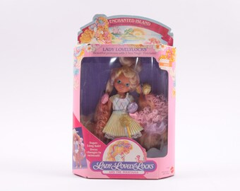 Enchanted Island Lady Lovely Locks Mint In Box ~ Pink Room ~ 170217
