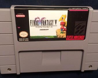 Final Fantasy V (5) English Translation SNES Game