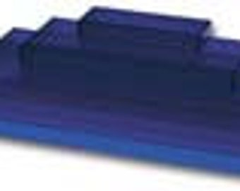 Acrylic Stair Step Displayer or Organizer - Use for Craft Shows or Retail Display