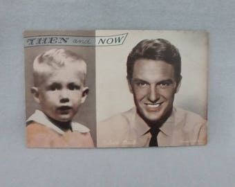 Vintage Mid Century Arcade Cards Then and Now Robert Stack