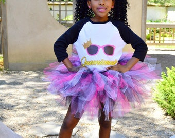 Pink Black White Tutu, Multicolor Tutu, Girls Tutu, Princess Tutu, Birthday Tutu, Girls Tutu Skirt, Tutu Skirt