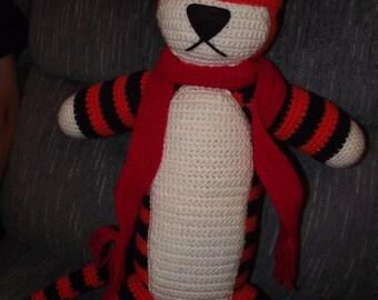 2 foot tall Crochet Hobbes