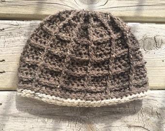 Crochet Square Hat (Pattern)