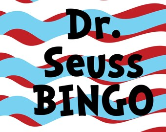 Dr. Seuss BINGO with calling cards