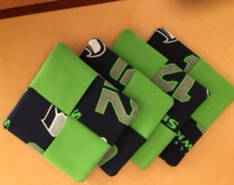 Seahawks Coaser set(4)