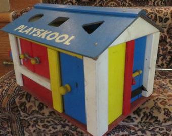 Playskool manipuative barn