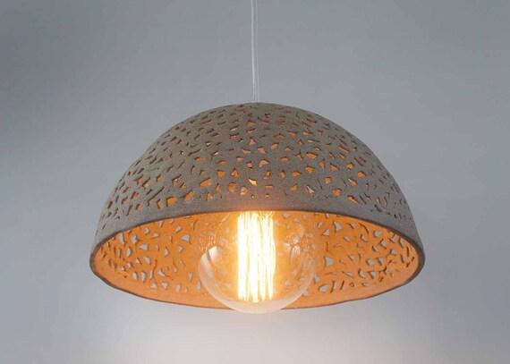 Ceramic Lamp Shade Dome Pendant Light Pendant Lighting