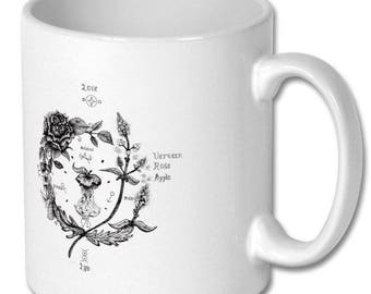 Love apple witchcraft spell love spell mug