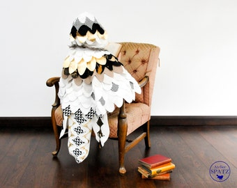 Harry Potter Hedwig Costume   White Owl Costume   Snow Owl   Bird Cape   Wings for Halloween - handmade in your choice of colours