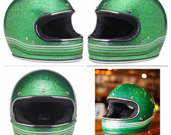 Biltwell Gringo Green metal flake