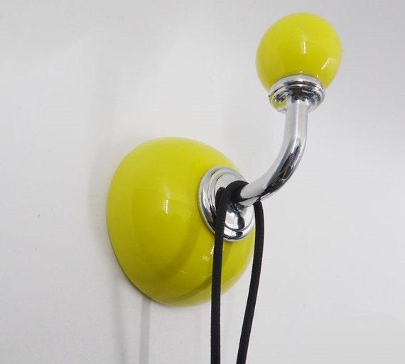 Yellow Wall Hooks Coat Hanger Hat Hangers Hook Rack Decorative Hooks ...