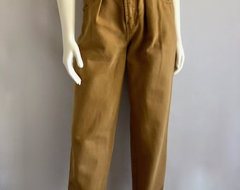 Vintage Women's 90's Union Bay Jeans, High Waisted, Mustard Yellow, Denim (M)