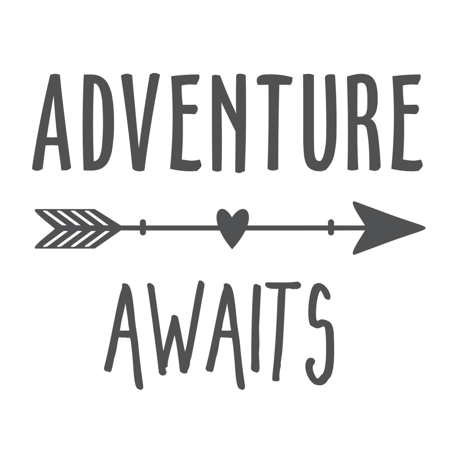 Life is an Adventure Wall Decal | Adventure Awaits Wall