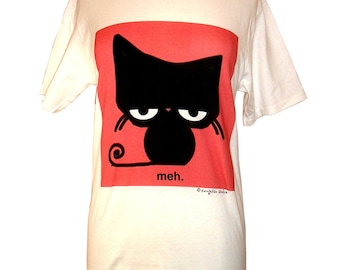 Meh Cat Tee Shirt