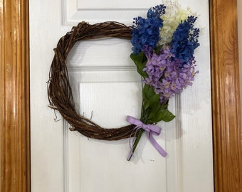 Small Spring Lilac wreath