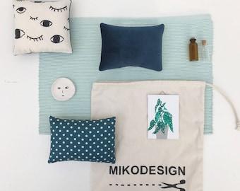 mini  home decoration set blue